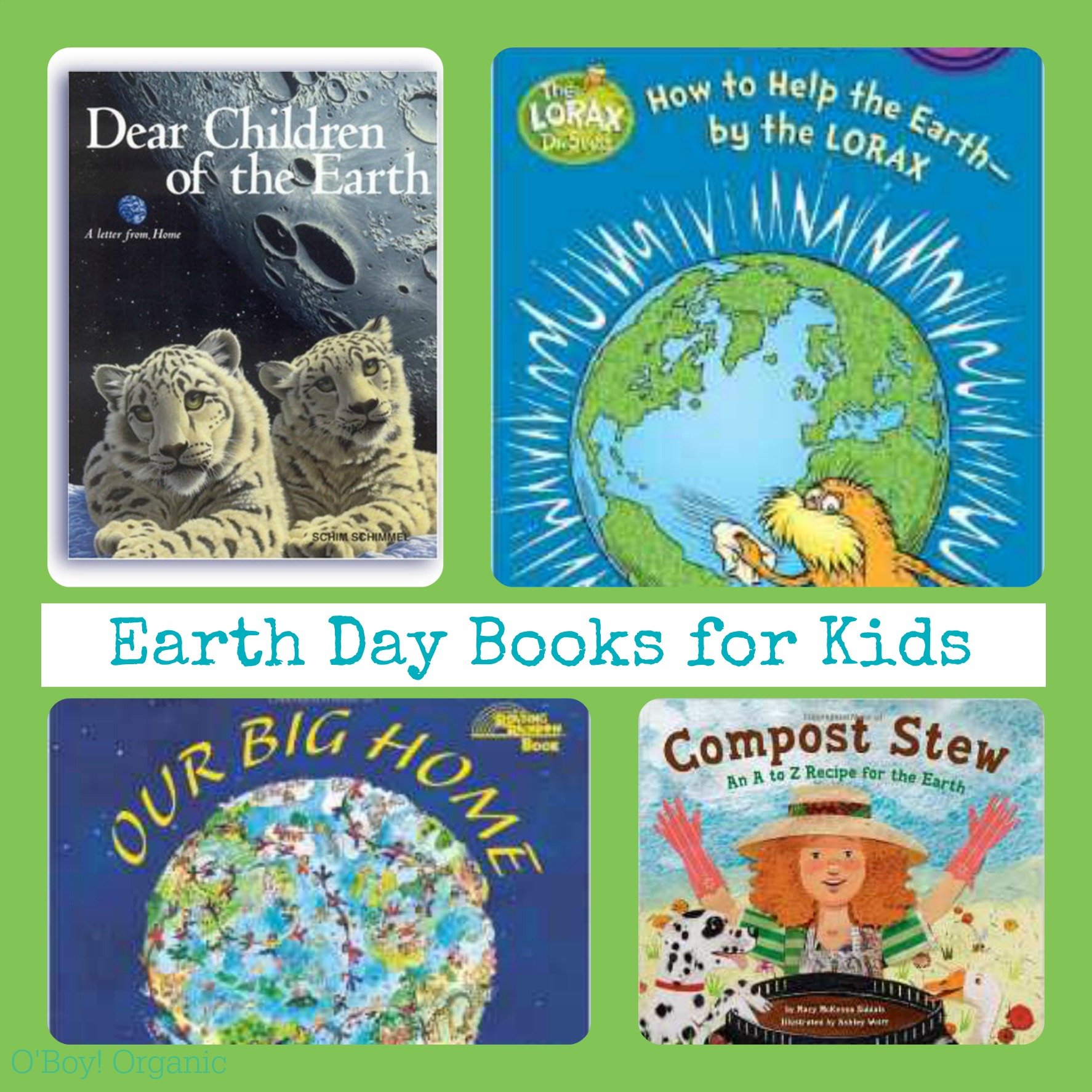 Favorite Earth Day Books for Kids