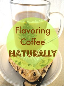 Flavoring coffee naturally 1