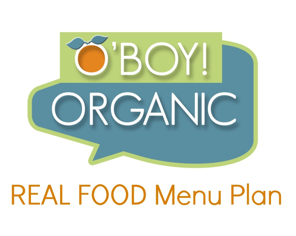 Real food Menu Plan logo