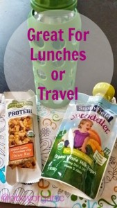Stonyfield Pouch Giveaway lunches