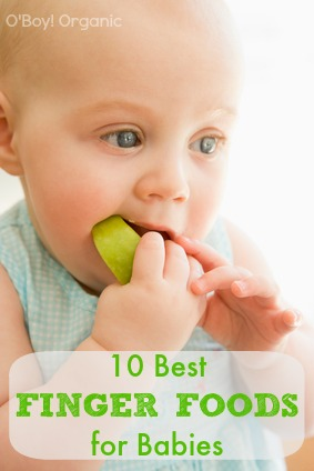 10 best finger foods for babies