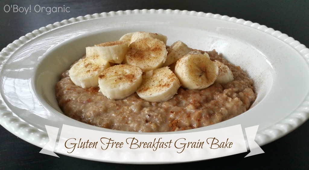 Gluten Free Breakfast Grain Bake