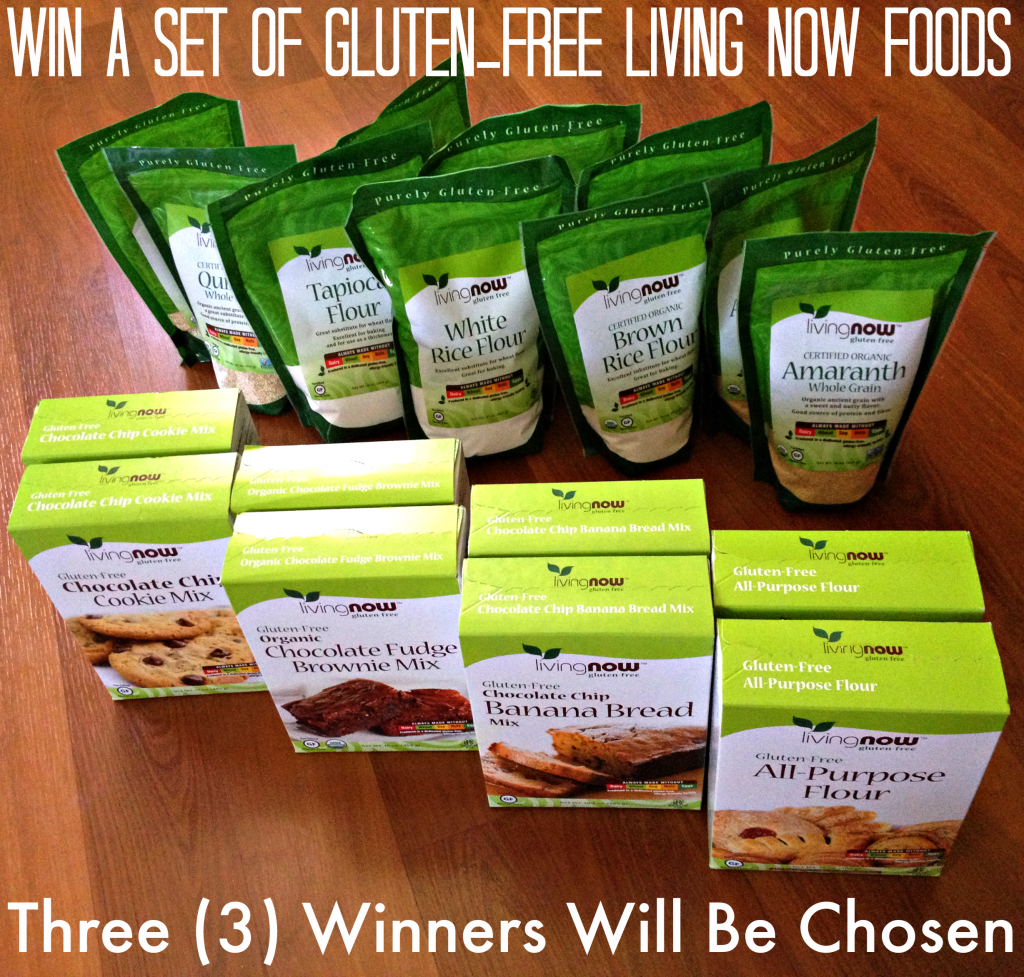 Living Now Foods Giveaway
