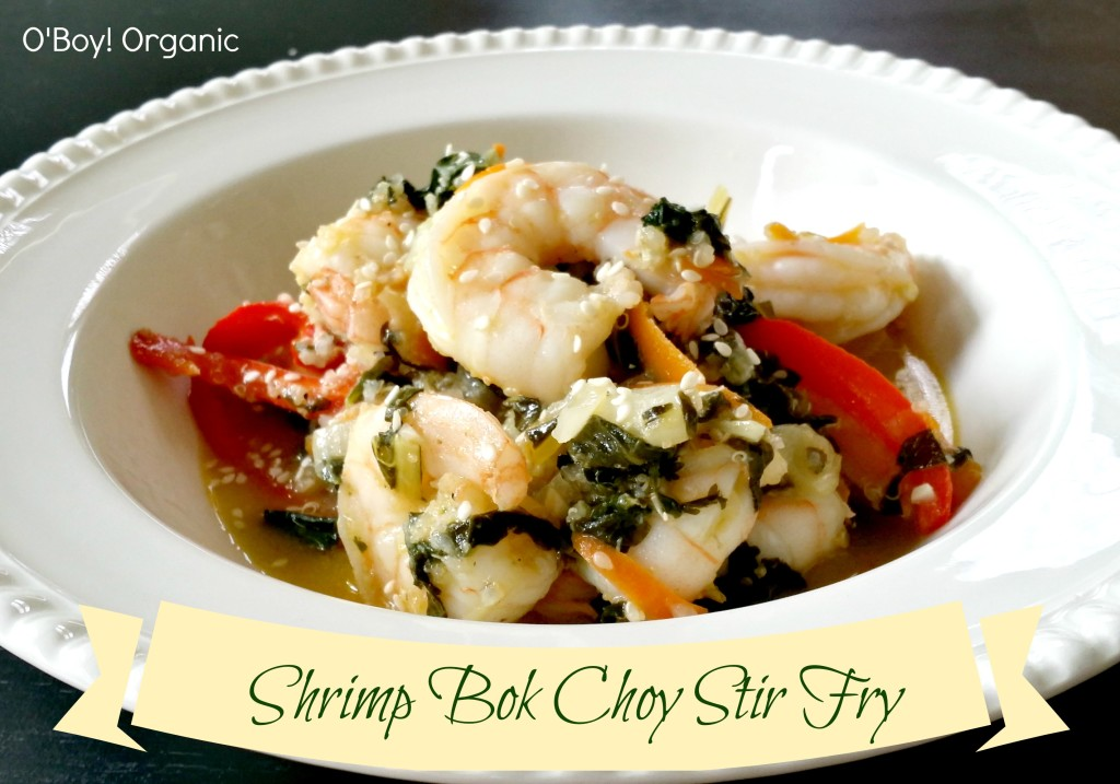 Shrimp Bok Choy Stir Fry