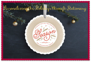 Minted holiday stationary