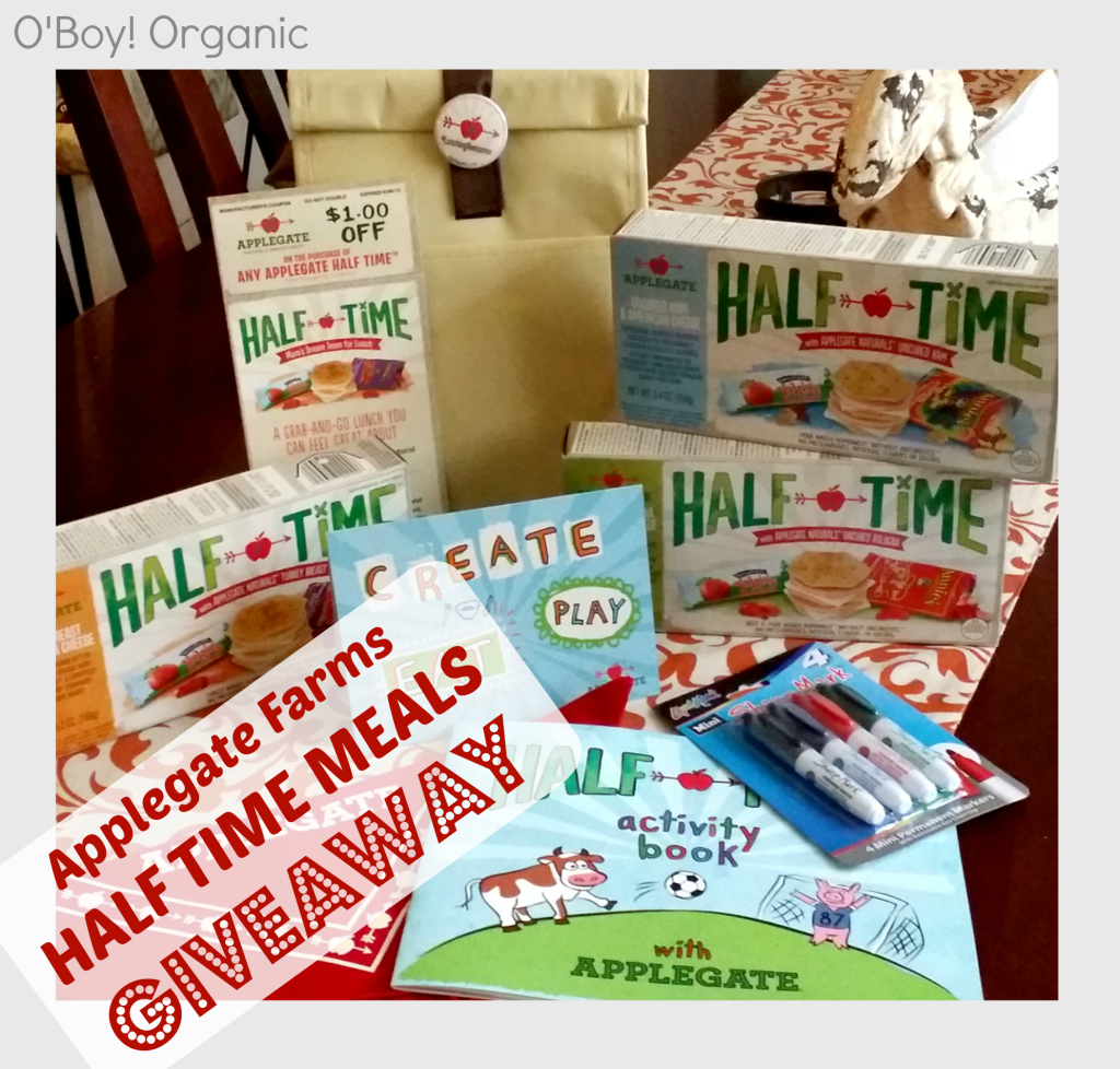 Applegate farms Half Time Meals Giveaway Logo