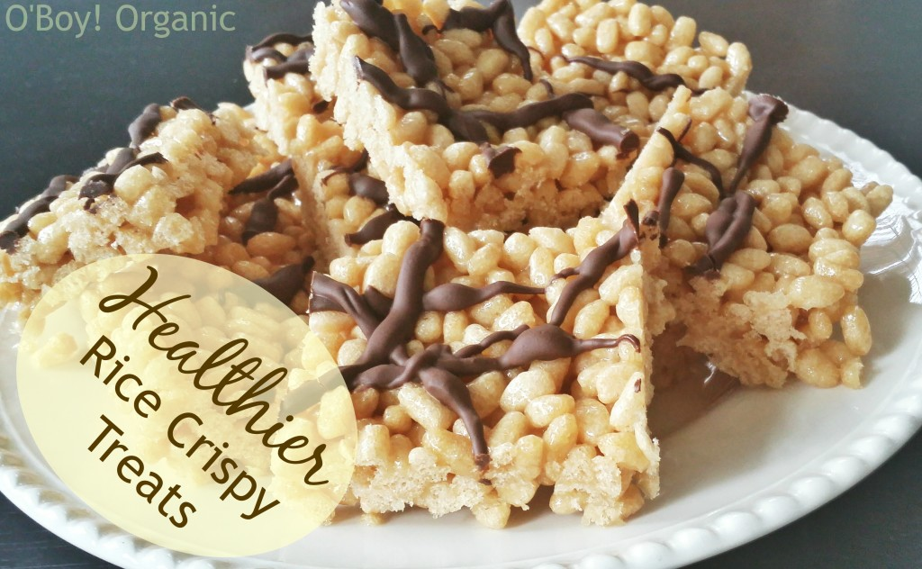 Healthier Rice Crispy Treats Logo