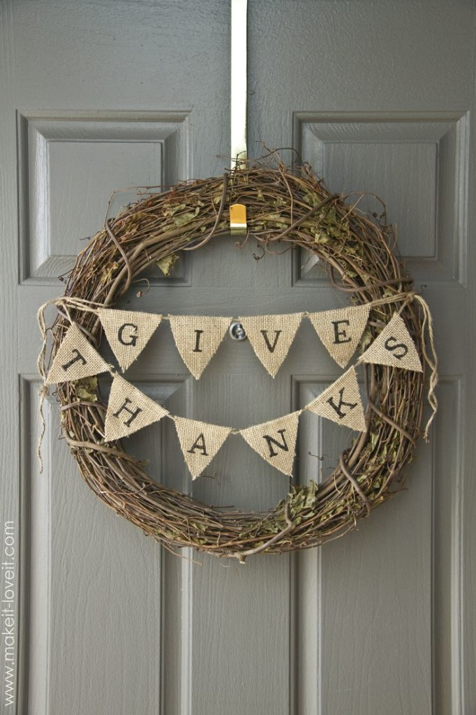Weekday Wreckers Burlap Wreath