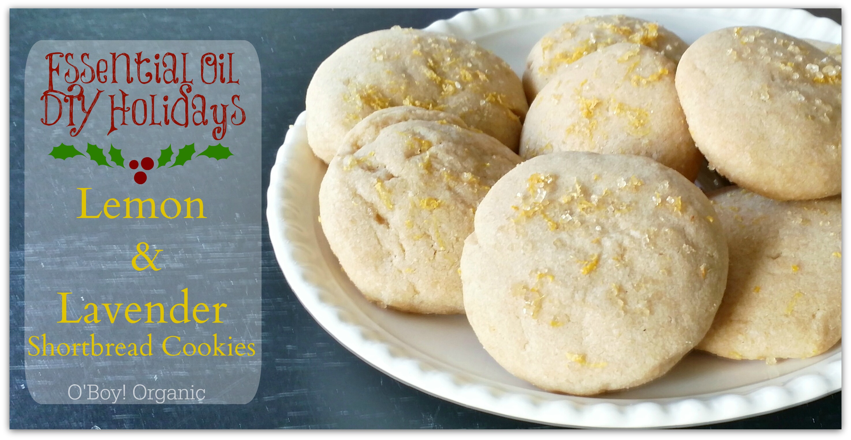 Essential oils for baking and diy gifts yl lemon and lavender shortbread cookies essential oil baking tips forumfinder Gallery