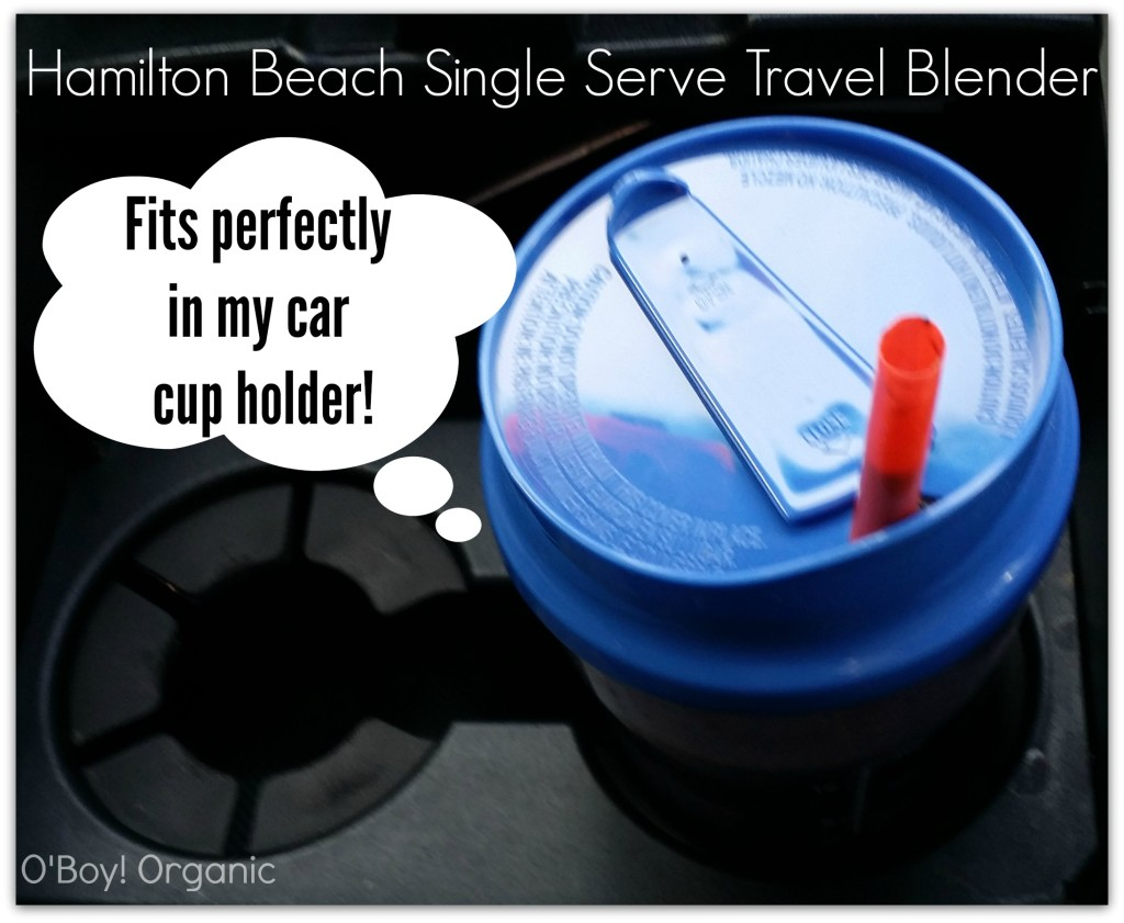 Hamilton Beach Smoothies Cup holder