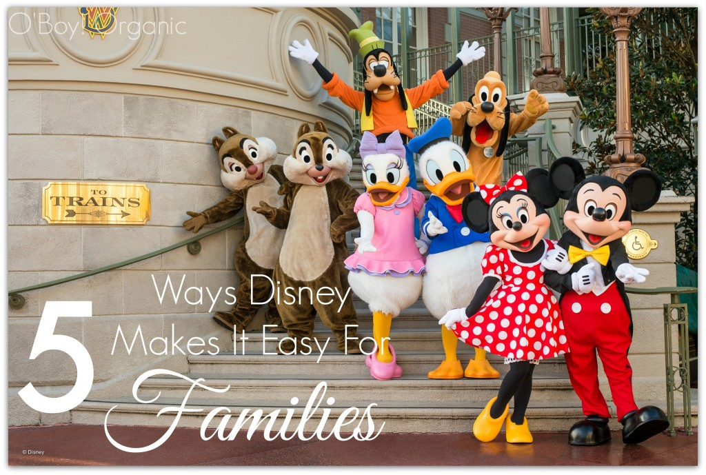 Disney 5 ways they make it easy for families