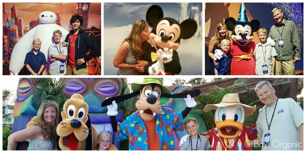 Disney Meet and Greet Collage