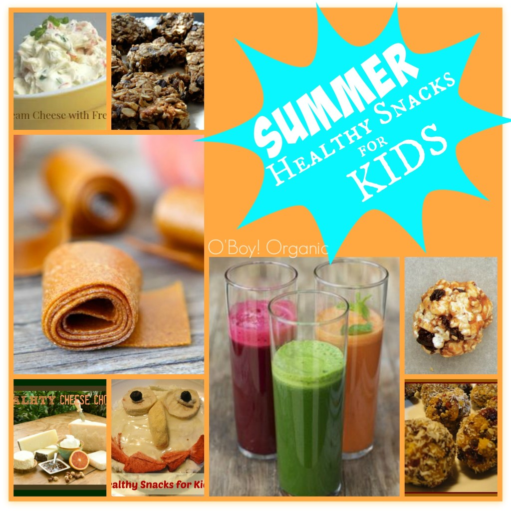 Summer Healthy Snacks for Kids