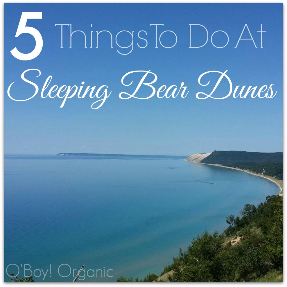 5 Things to do at Sleeping Bear Dunes