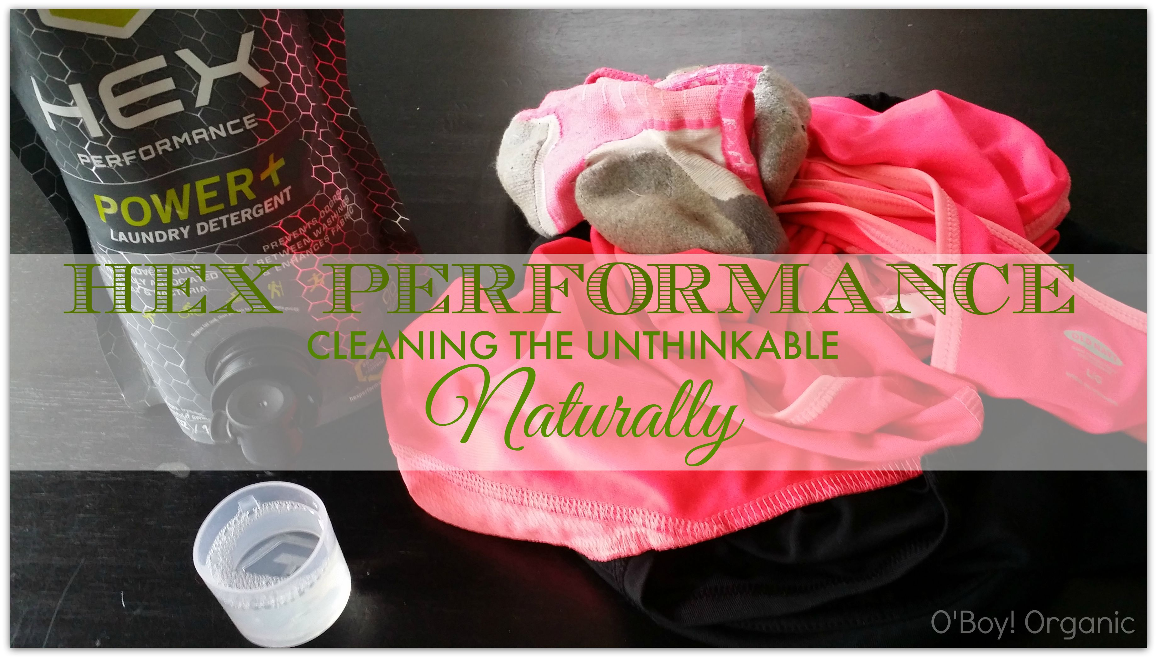 Get Rid Of Stinky Gym Clothes With Hex Performance