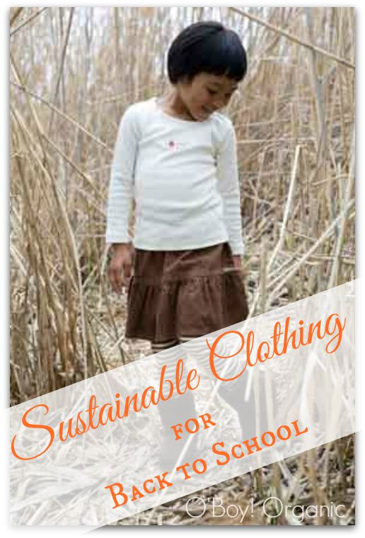 Sustainable Clothing for Back to School