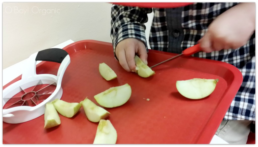 applesauce making with kids 2