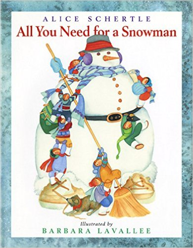 all you need for a snowman book