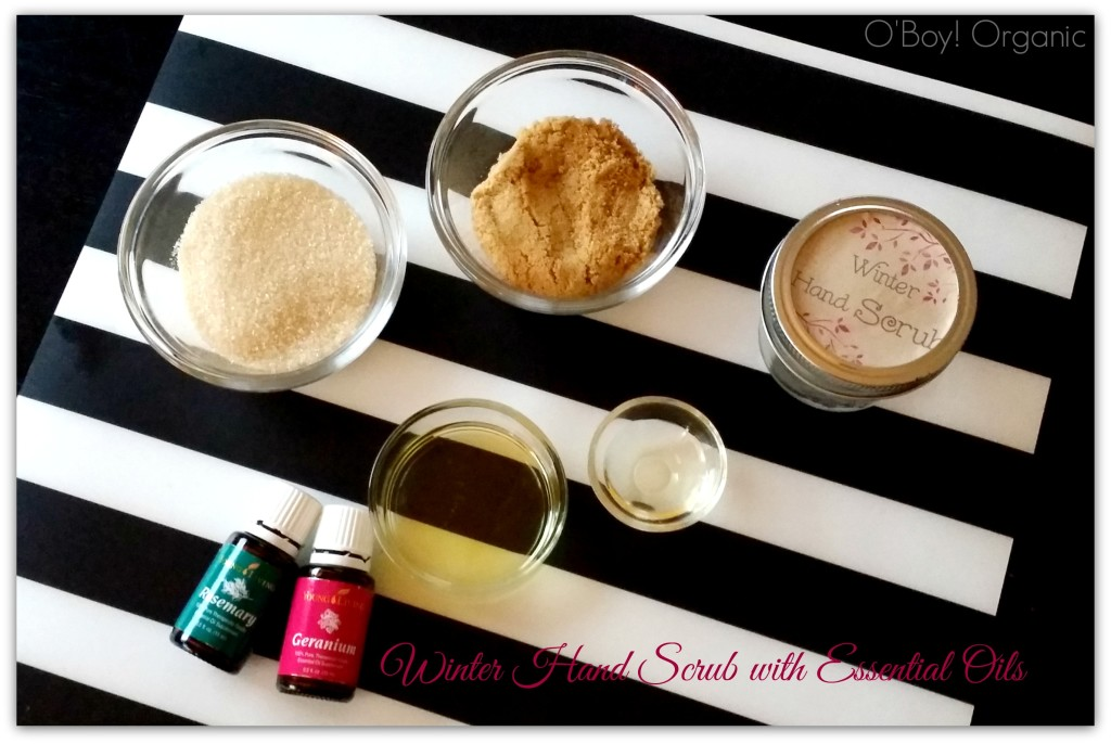 Winter Hand Scrub Ingredients