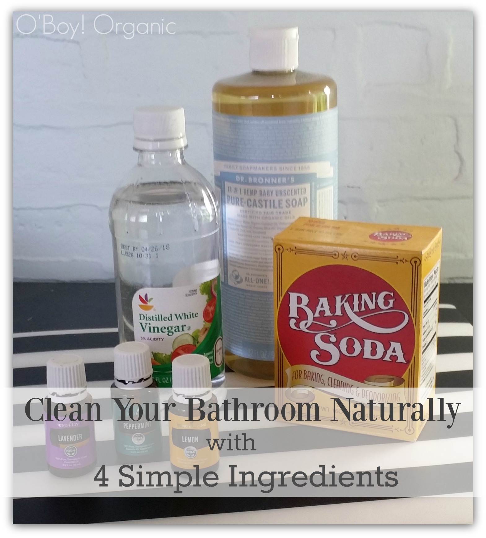 How To Spring Clean Your Bathroom Naturally