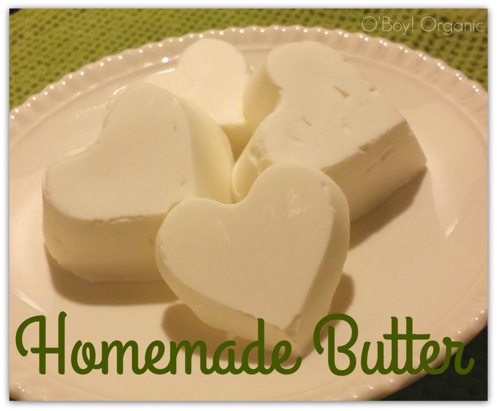 homemade butter molds