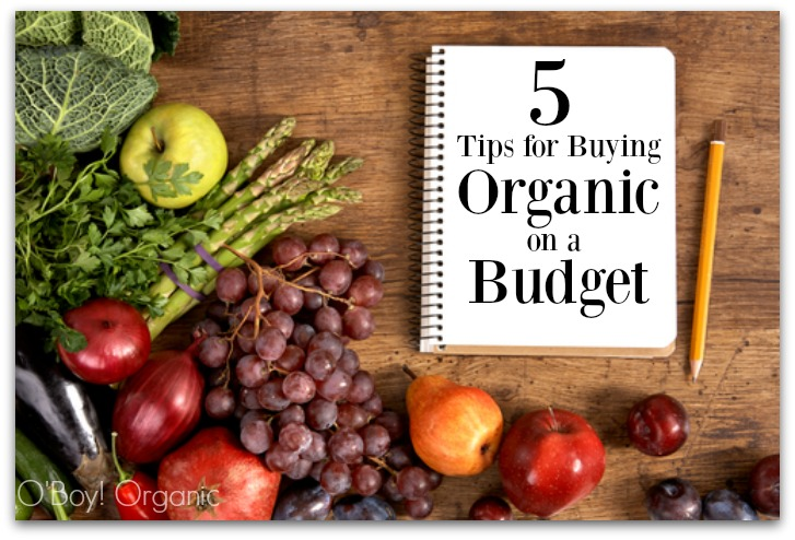 5 tips for buying organic on a budget