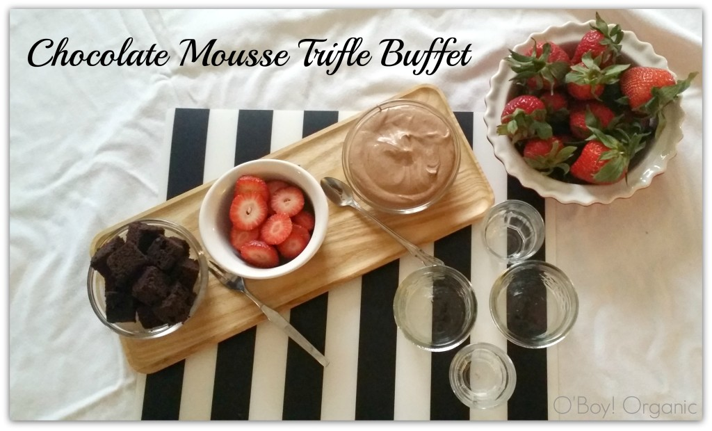 Chocolate Mousse Trifle Buffet