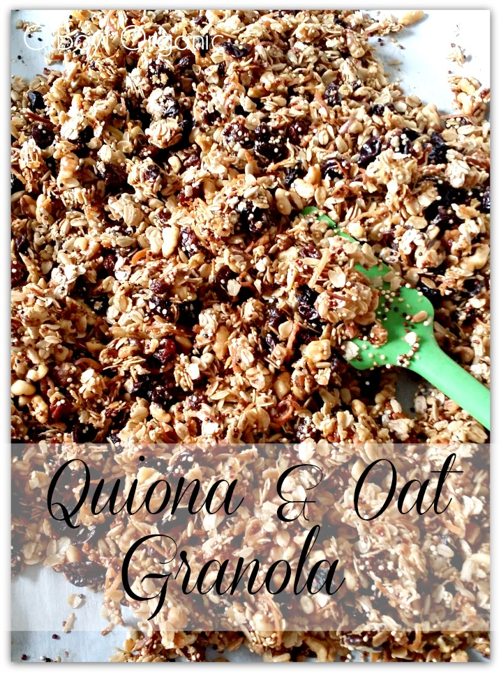 Quiona and Oat Granola