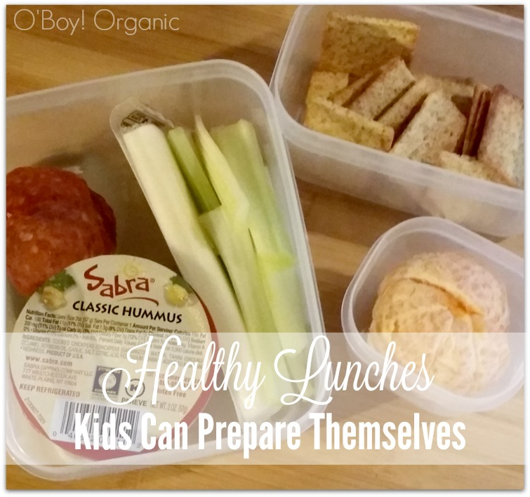 Healthy Lunches Kids Can Prepare Themselves