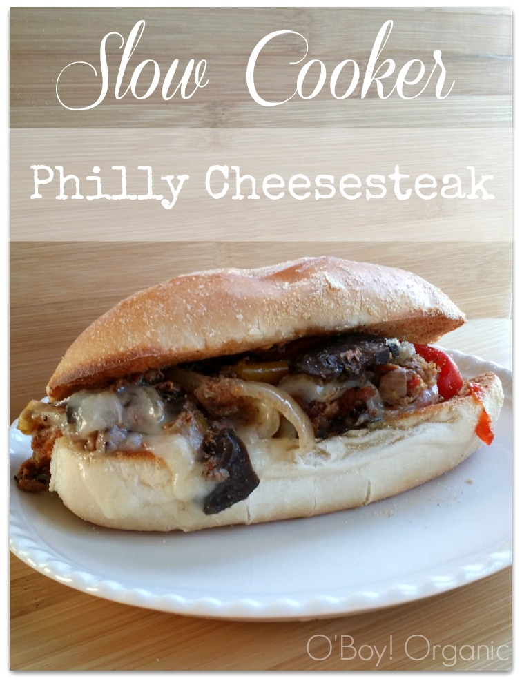 Slow Cooker Philadelphia Cheesesteak