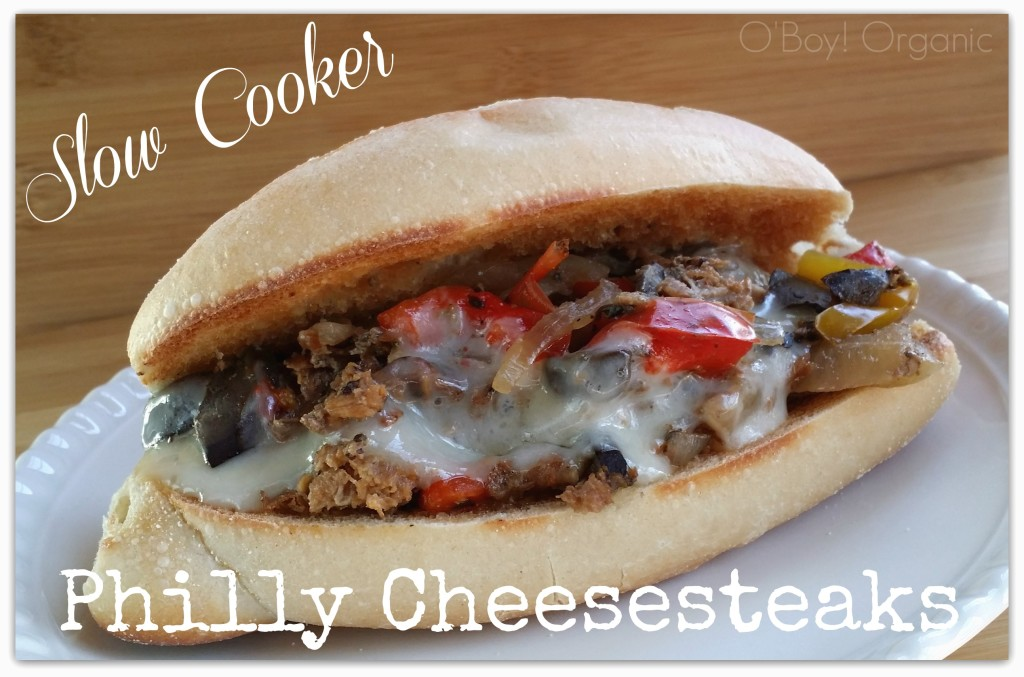 slow cooker Philly Cheesesteaks 2