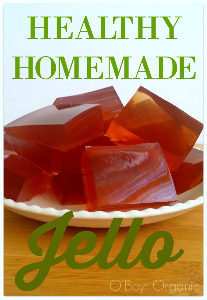 Healthy Homemade Jello