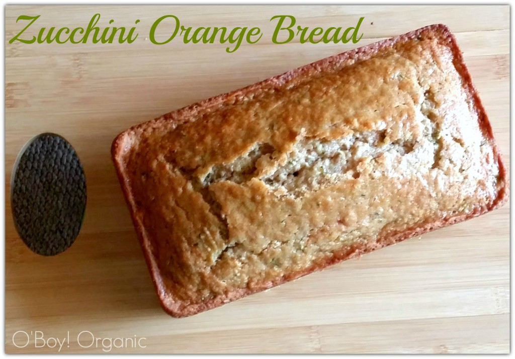 Zucchini orange bread loaf  logo