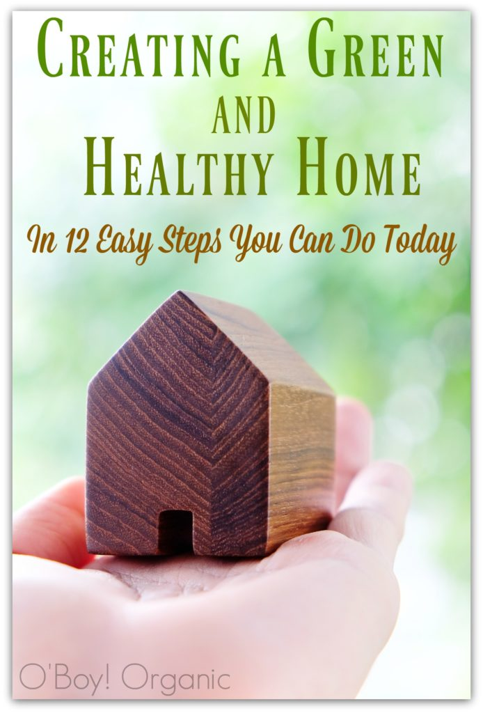 12 Ways to Create a Green and Healthy Home