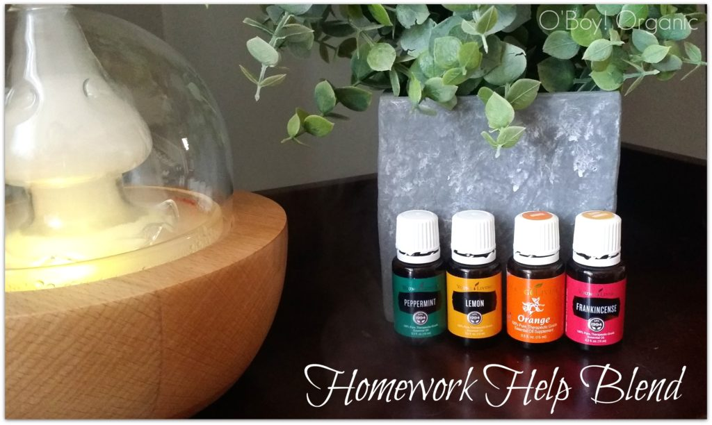 homework blend for diffusing