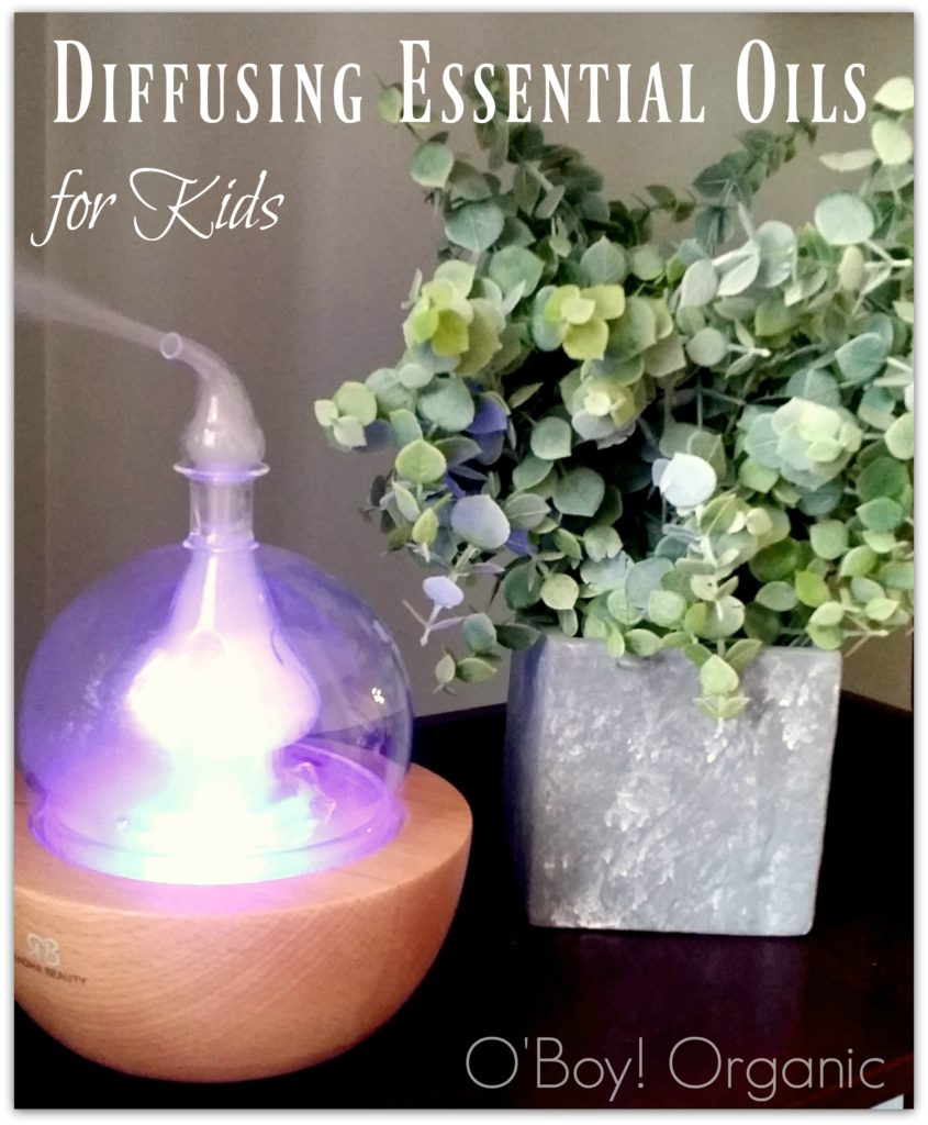 Diffusing Essential Oils for Kids