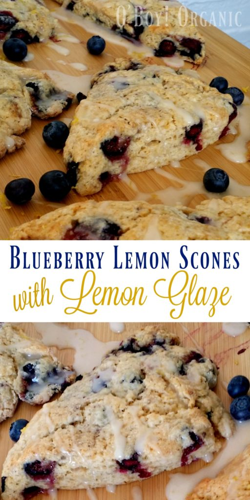 Blueberry Lemon Scones Pinterest Image