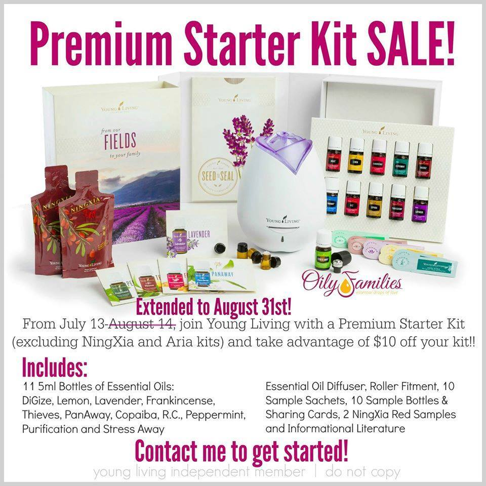 10 Off Young Living Premium Starter Kit