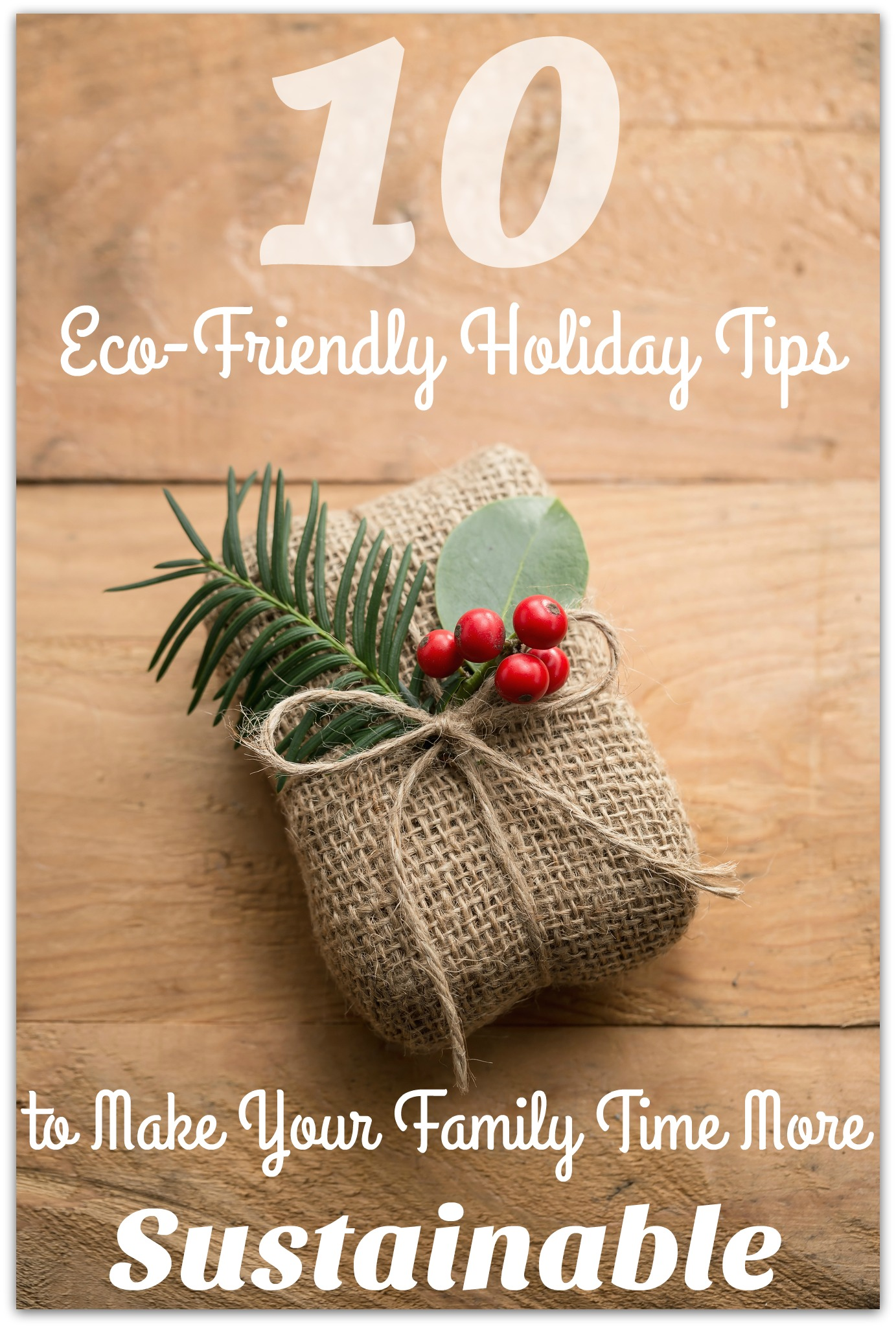 10 Eco Friendly Holiday Tips To Make Your Family Time More
